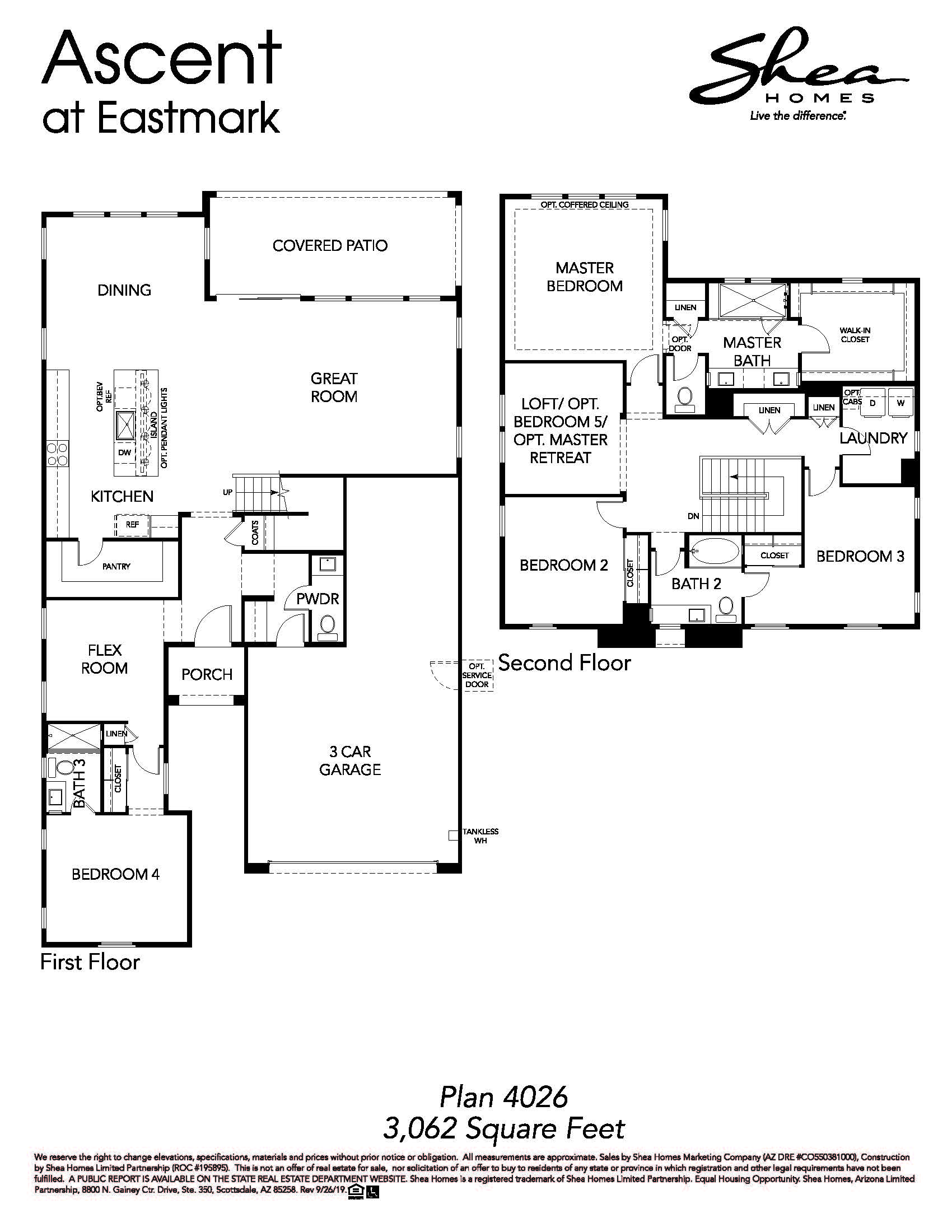 Plan 4026 Floorplan