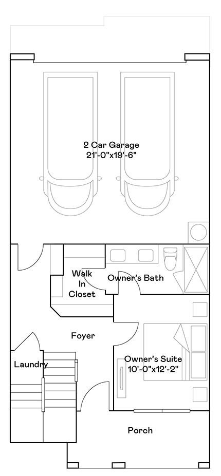 Verdin – Plan 102 Floorplan