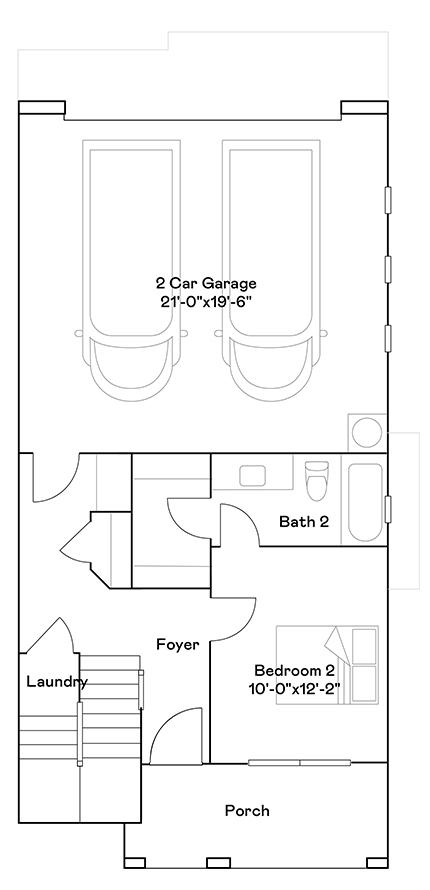 Oriole – Plan 105 Floorplan