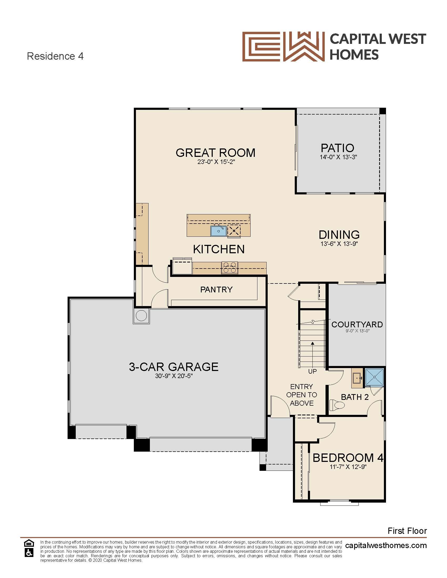 Residence Four Floorplan