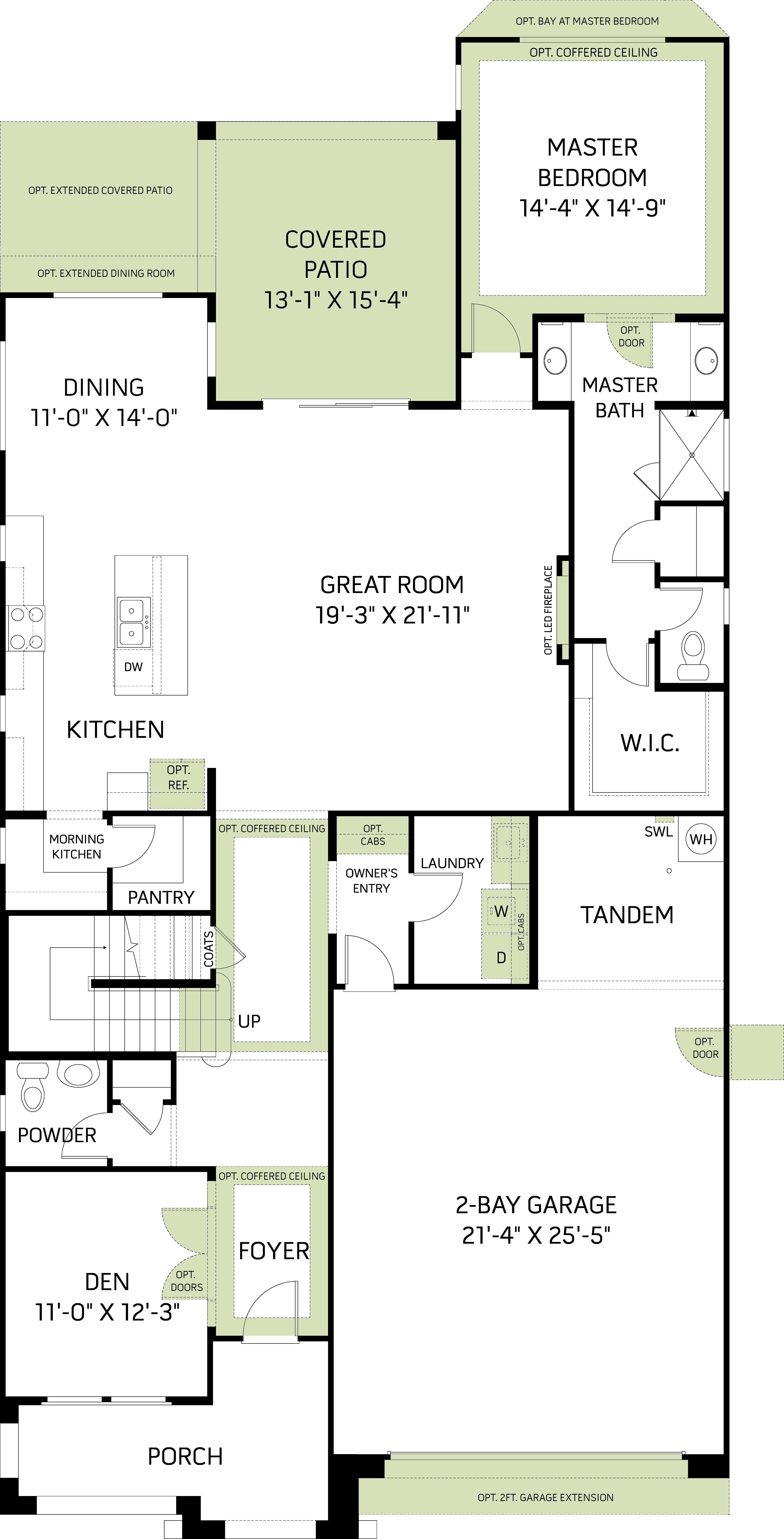 Chalice Floorplan